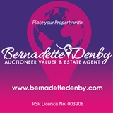 Bernadette Denby Auctioneer Valuer & Estate Agent