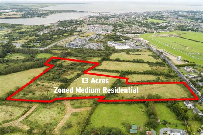 Main image for c. 13 Acres, 5.26 Ha at Newtown Road, Wexford Town, Wexford