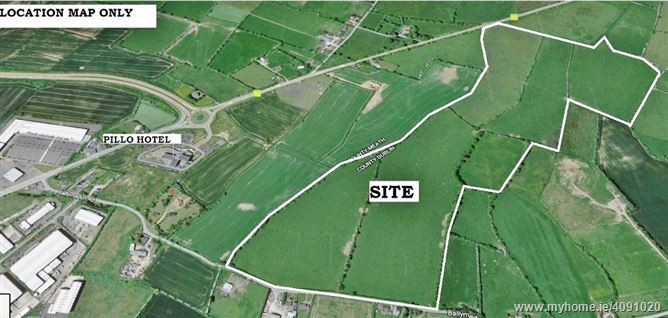 Development Land c. 115 Acres/ 46.53 HA., In One or More Lots, Ballymadun, Ashbourne, Meath
