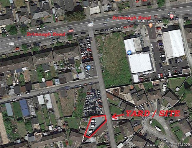 Site / Yard to Rear of No.3 Hughes Road East, Walkinstown, Dublin 12