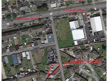 Photo of Site / Yard to Rear of No.3 Hughes Road East, Walkinstown, Dublin 12