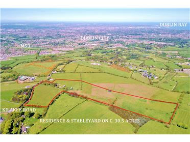 Photo of Residential Farm on c. 30.5 Acres/ 12.34 Ha., Woodtown, Rathfarnham, Dublin 16