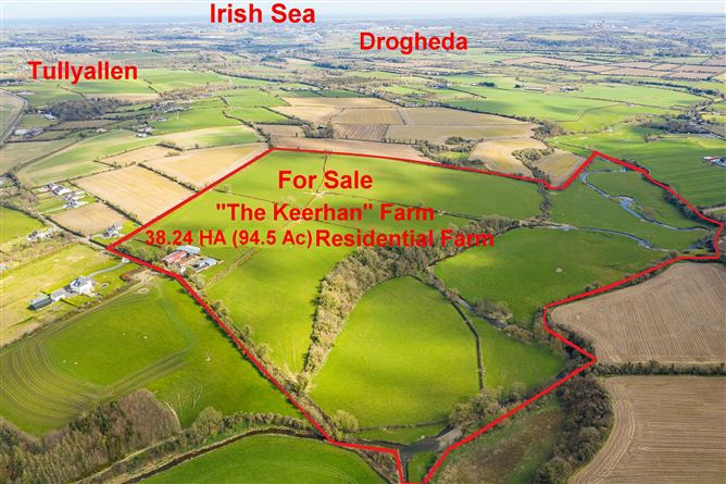 Main image for 38.24 HA Residential Farm and Yard, The Keerhan, Woodmill, Tullyallen, Louth