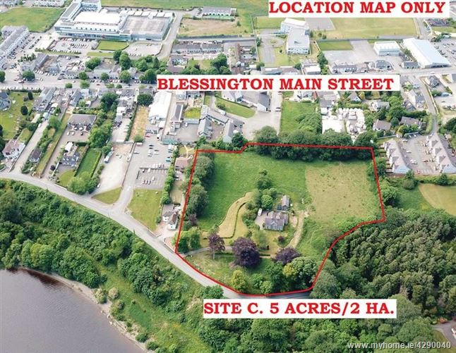 """The Old Rectory"", Residential Development Site c. 5 Acres, Kilbride Road, Blessington, Wicklow"