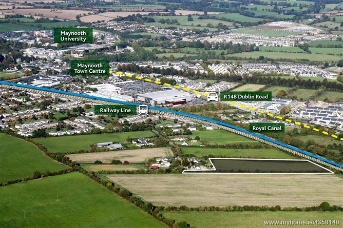 Main image for Railpark, Maynooth, Co. Kildare - approx. 4.2 acres Zoned Residential