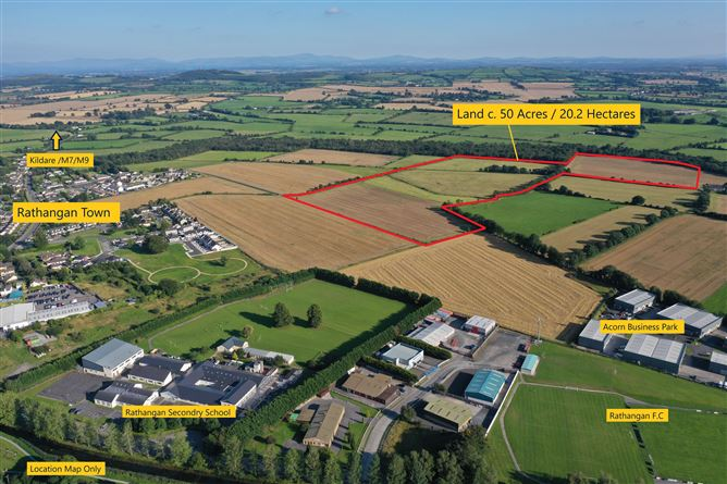 Main image for Substantial Land Holding c. 50 Acres / 20.2 Hectares, Rathangan, Kildare