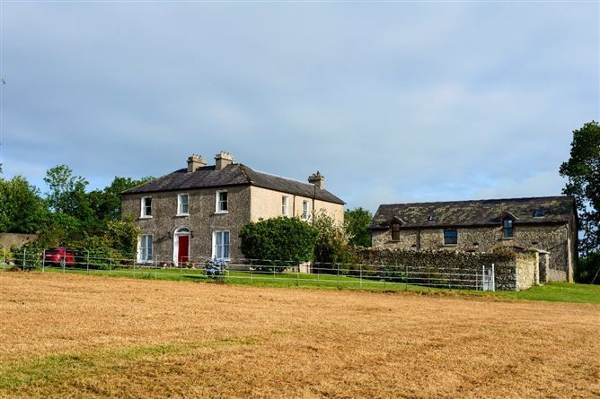 Main image for Glebe House On C. 6 Acres, Farrantemple, The Rower, Inistioge, Co Kilkenny