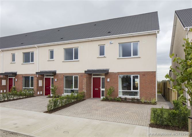 New 3 Bedroom End of Terrace House Type D1, Ashfield, Ridgewood, Swords, County Dublin