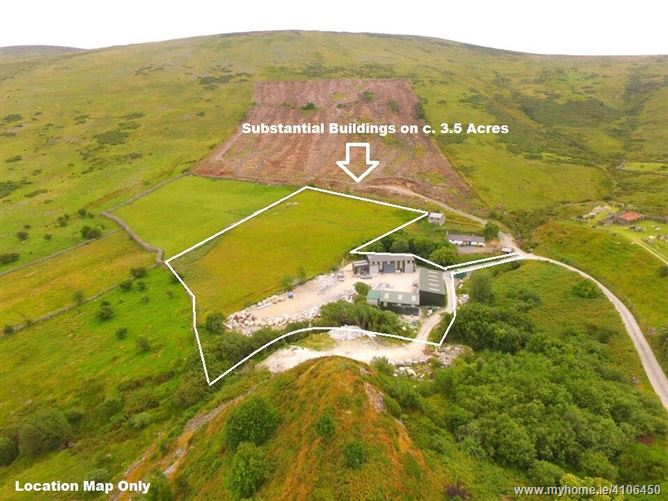 Substantial Buildings on c. 3.5 Acres/ 1.41 Ha., Ballyknockan, Valleymount, Wicklow