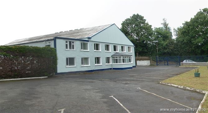 High Profile Industrial/ Warehouse Facility c. 760 sq. m/ 8,180 sq. ft on c. 0.9 Acres, Burgage, Blessington, Wicklow