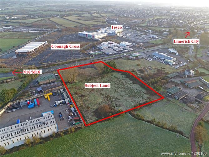 Development Land Clondrinagh (former Texaco garage), Ennis Road, Limerick