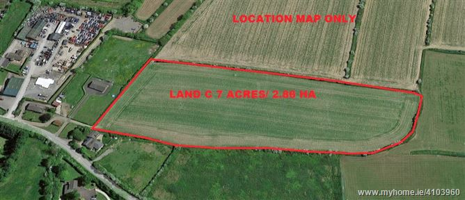 Land c. 7 Acres/ 2.86 HA., Rathmooney, Lusk, Dublin