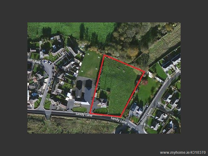 Main image for ZONED DEVELOPMENT LAND with Residence, Sandy Lane,, Portarlington, Laois
