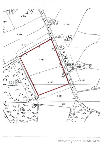 C.8 acres Balgeeth, Carnaross, Meath