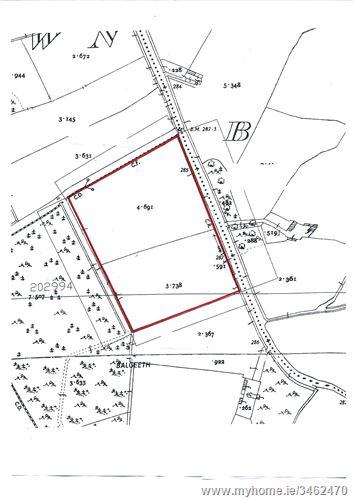 C.8 acres Balgeeth, Carnaross, Meath