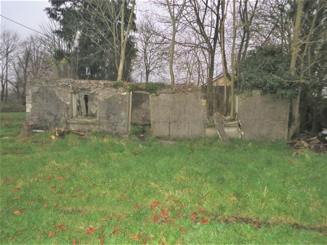 Main image for Derelict Residence on C. 1.29 Acre Site at Ballydaly Cross, Ballydaly, Tullamore, Offaly