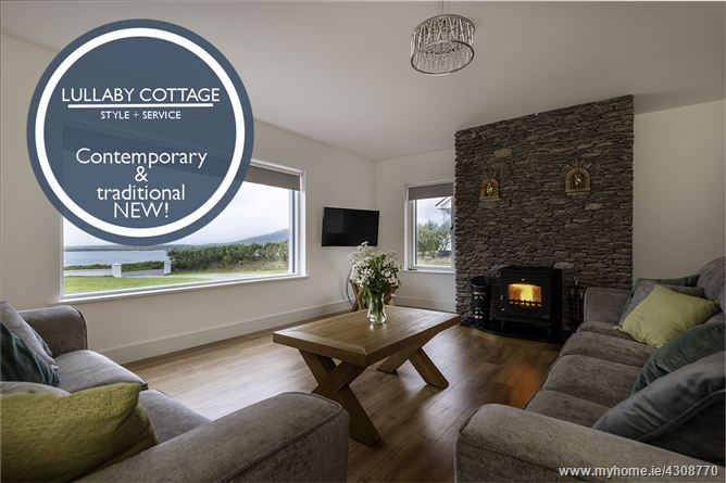 Main image for Lullaby Cottage – NEW! INCREDIBLE VIEWS ACROSS VENTRY HARBOUR,Ballymore West, Dingle Peninsula, County Kerry