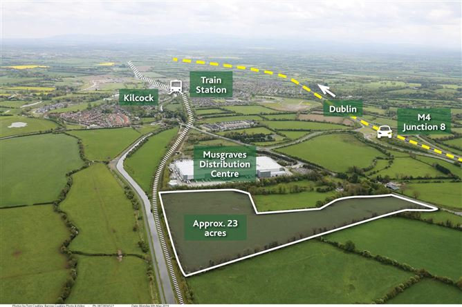 Main image for Boycetown, Co. Kildare - approx. 23 acres (zoned ind., warehousing), Kilcock, Co. Kildare