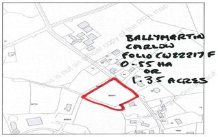 C. 0.55 HA, (1.35 Acres), Ballymartin, Borris, Carlow
