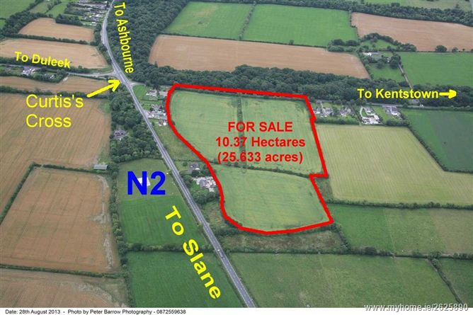 25.633 Acres at Flemingstown, Curtis's Cross, Balrath, Meath