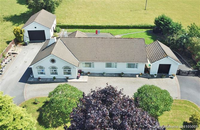 Superior Bungalow on c. 0.5 Acre, Newtown, Eadestown, Naas, Kildare