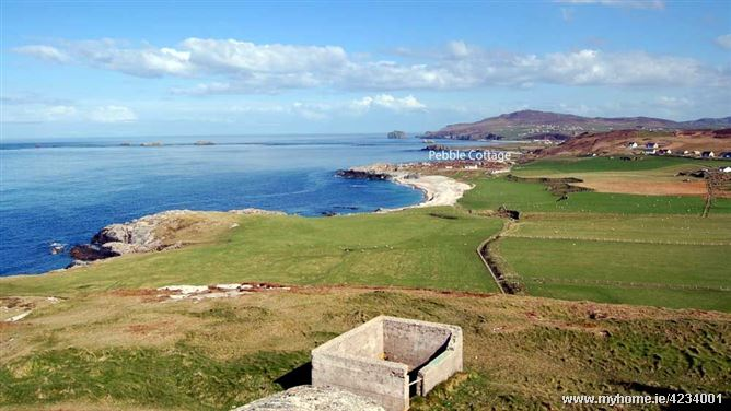 Pebble Cottage at Malin Head, Donegal