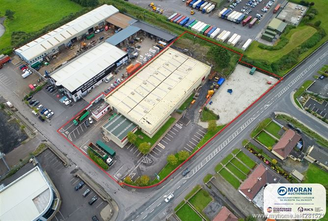 Substantial Industrial Unit to Let Moneen/ Drumconlon, Castlebar, Co. Mayo, Castlebar, Mayo