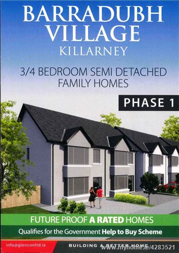 Phase 1, Barradubh Village, Killarney, Kerry
