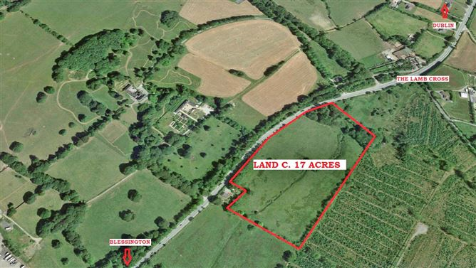 Land C. 17 Acres/6.88 Hectares The Lamb, Blessington, Wicklow