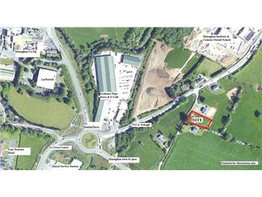 Photo of Site With FPP C. 0.22HA (0.54 Acres, Tullyherim, Monaghan, Co. Monaghan
