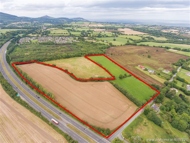 C.19.4 acres of Mixed Zoned Development Land at Woodstock Road, Newtownmountkennedy Co. Wicklow , Newtownmountkennedy, Wicklow