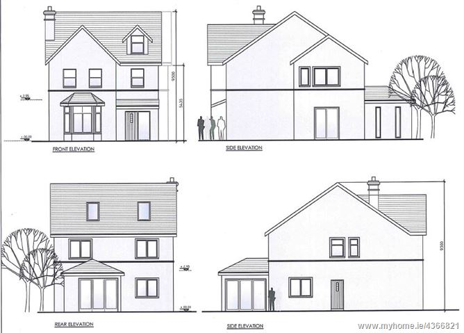 Main image for Site (with F.P.P. for 2,000 Sq Ft property) adjacent to Grove House, The Grove, Shanakiel, City Centre Sth, Cork City