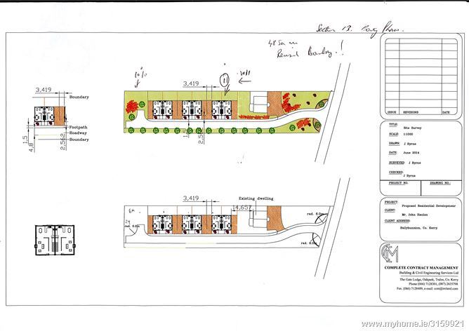 Development Opportunity, Lartigue Road, Ballybunion, Kerry