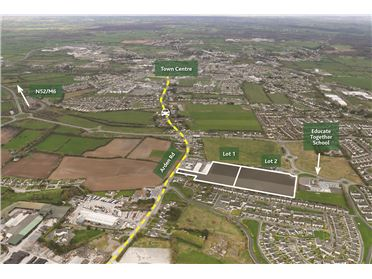 Photo of Arden Road, Tullamore, Co. Offaly - Site with F.P.P. for 116 sites