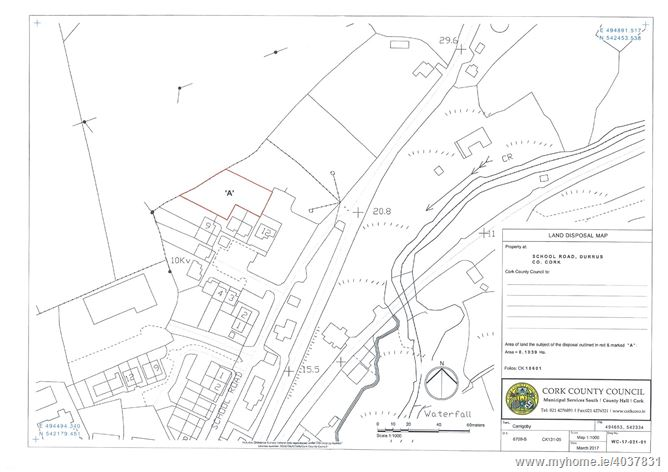 Main image for Serviced Sites At School Road, Durrus, Cork