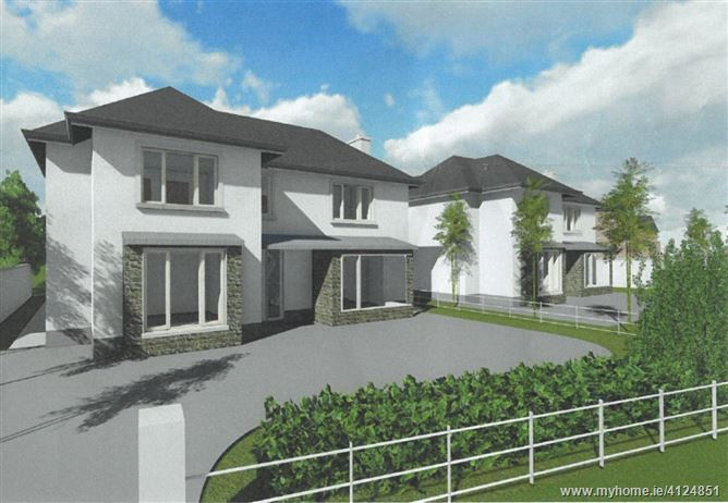 Ready To Go Site With Planning For Two Detached Homes, Dublin Road, Celbridge, Kildare