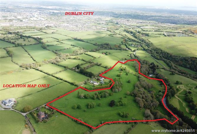 Land c. 34 Acres/ 13.7 HA., Ballymaice, Bohernabreena, Dublin