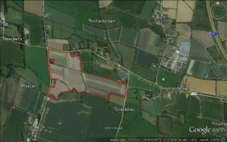 Lands c. 23.39 HA (c. 57.8 acres) at Gracedieu, Roscall Cross, Ballyboughal, County Dublin