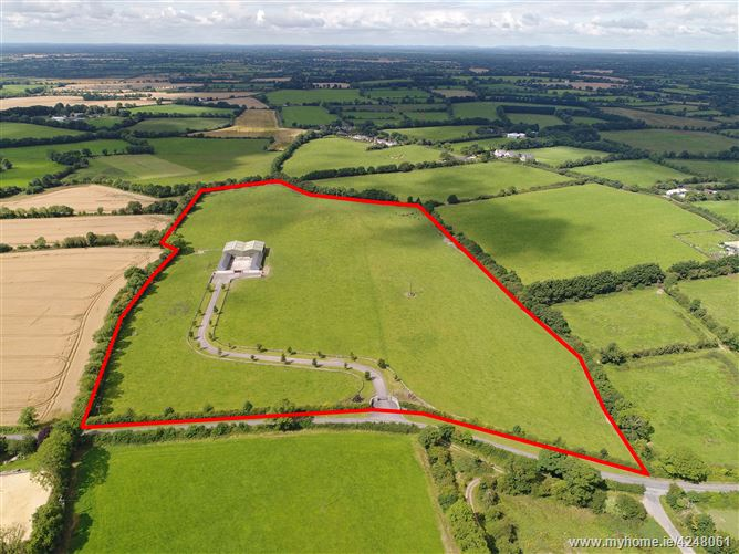 26.5 Acres with 16 Stables & Sheds at Shambo, Robinstown, Navan, Meath