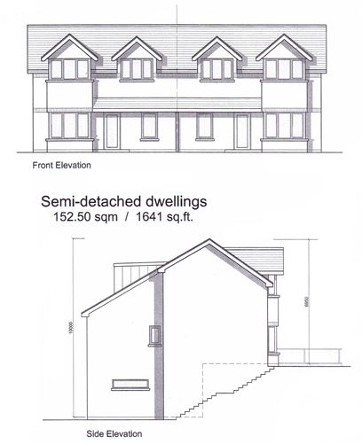 Main image for Site with Full Planning Permission, The Poplars, Delgany, Wicklow