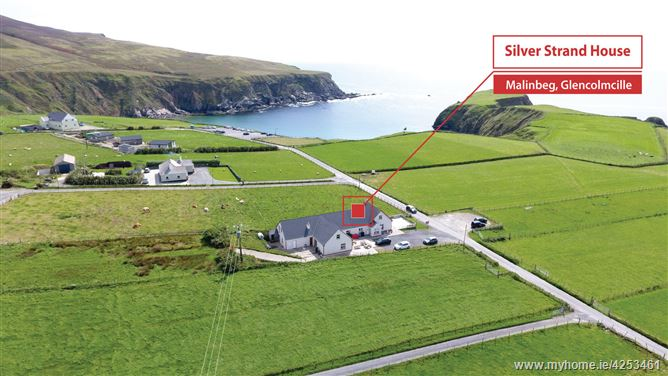 Main image for Silver Strand House, Malinbeg, Glencolmcille, Donegal