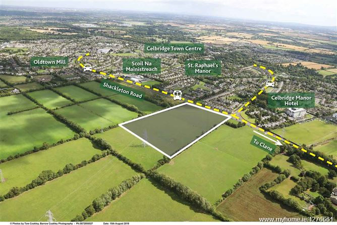 Shackleton Road, Celbridge, Co. Kildare 11.6 Acres (4.69 ha) Zoned Residential