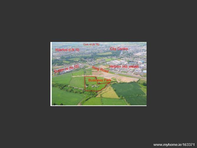 "Development Land, Zoned ""Business Park"", Hebron Business Park, Dublin Road"