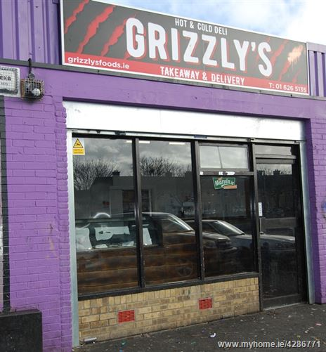 Grizzly's Takeaway, Greenfort Shopping Centre, Shancastle, Clondalkin, Dublin