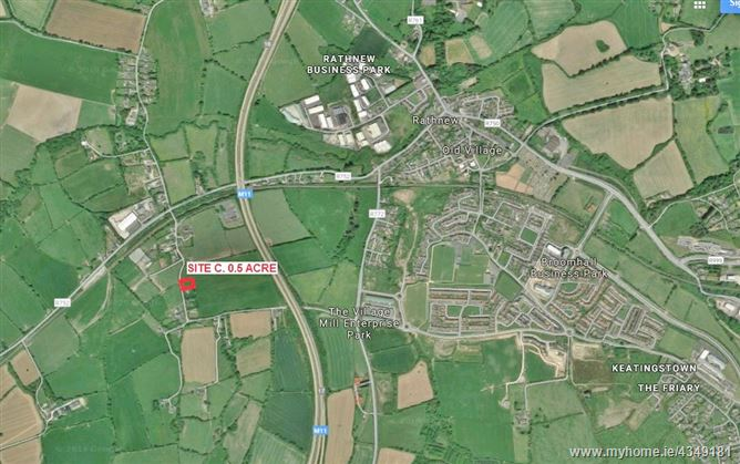 Main image for Site Subject To Planning, Milltown Lane, Rathnew, Wicklow