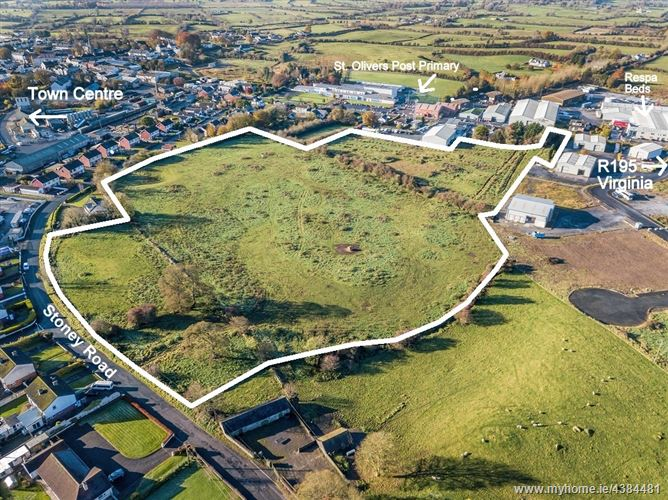 Main image for Development Land, Oldcastle, Co. Meath - approx.14 acres (5.7 ha)