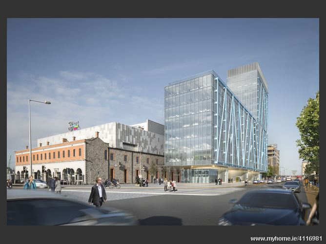 Main image for The Exo Building, Point Square, Dublin 1
