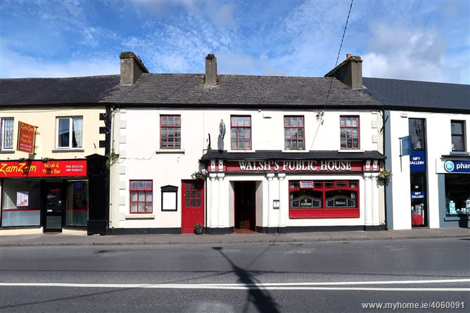 For Immediate Sale Long Established 7 Day Licensed Premises, The Square , Charlestown, Mayo