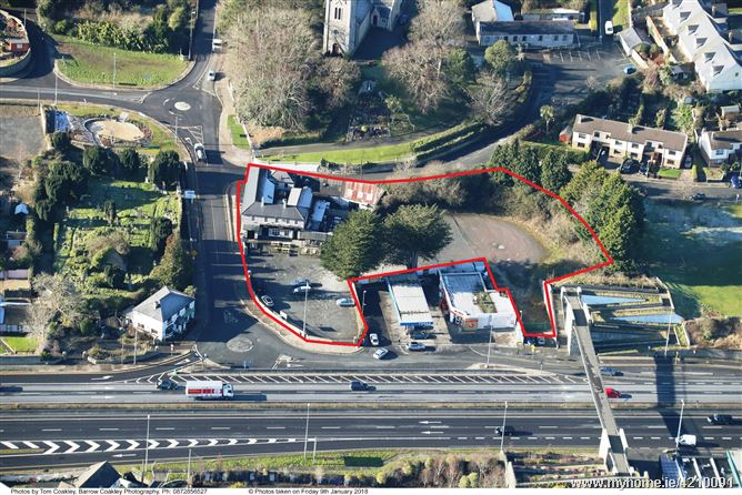 0.96 Acres of Zoned land at Pluck's of Kilmacanogue , Junction 8 on N11,Co. Wicklow, A98RX46