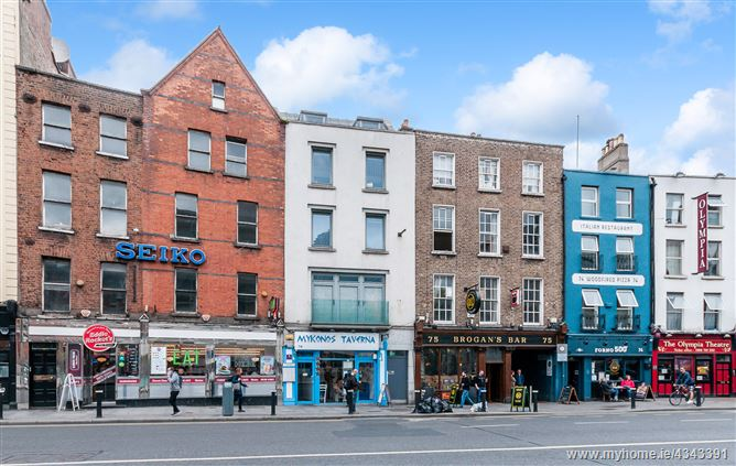 APT 3, 76 Dame Street, Dame Street, Dublin 2